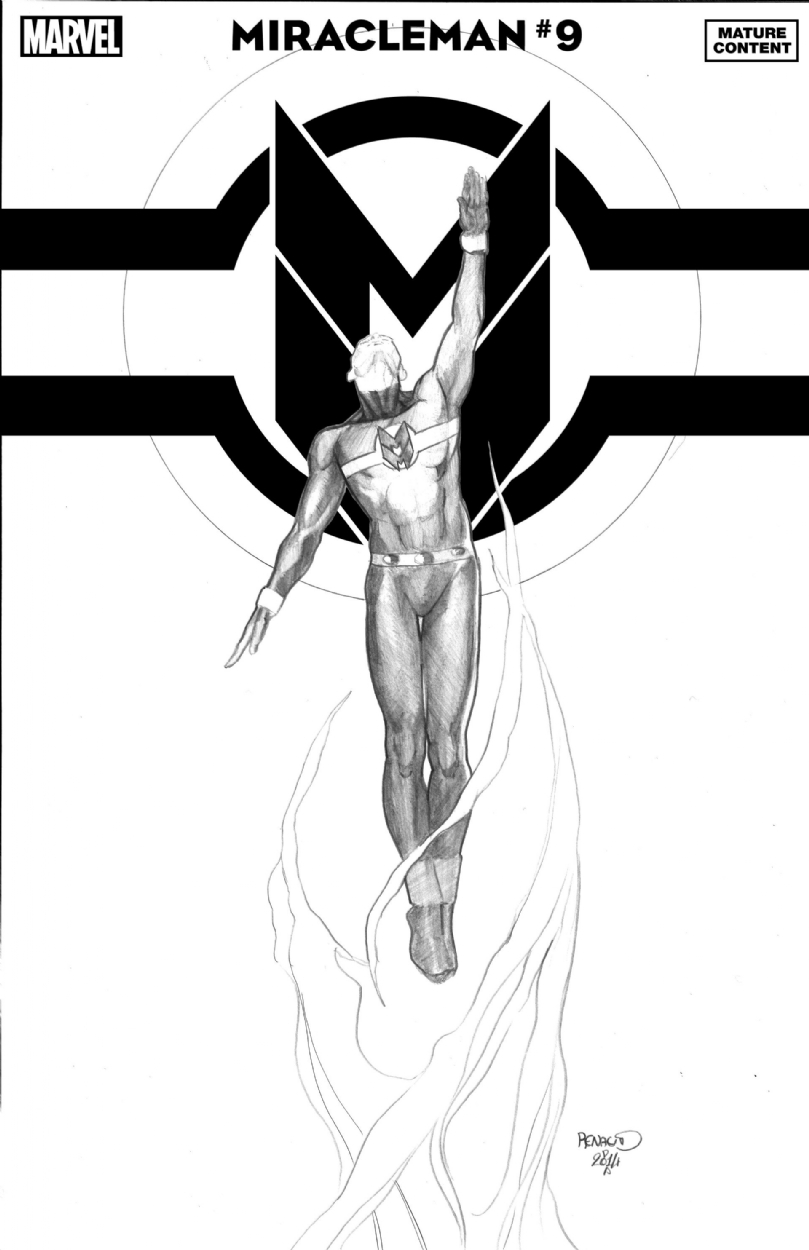 Miracleman #9 1:25 Paul Renaud Variant
