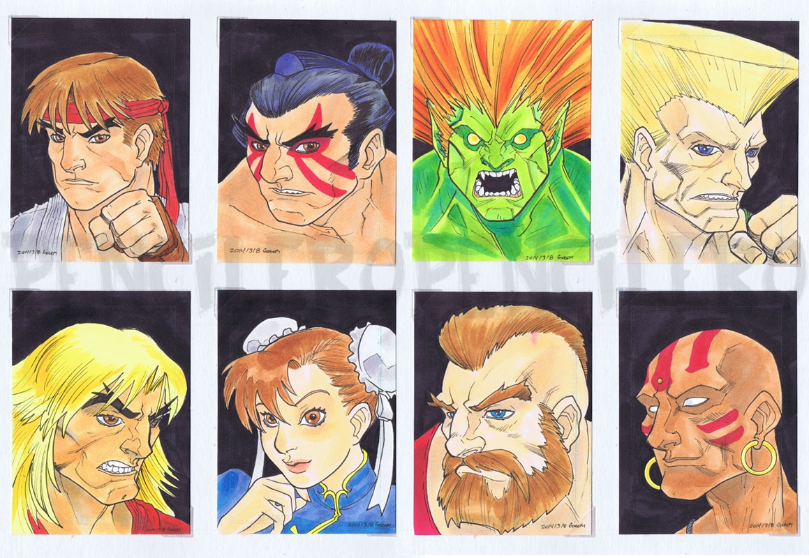 Here Comes A New Challenger Street Fighter 2 Character Select